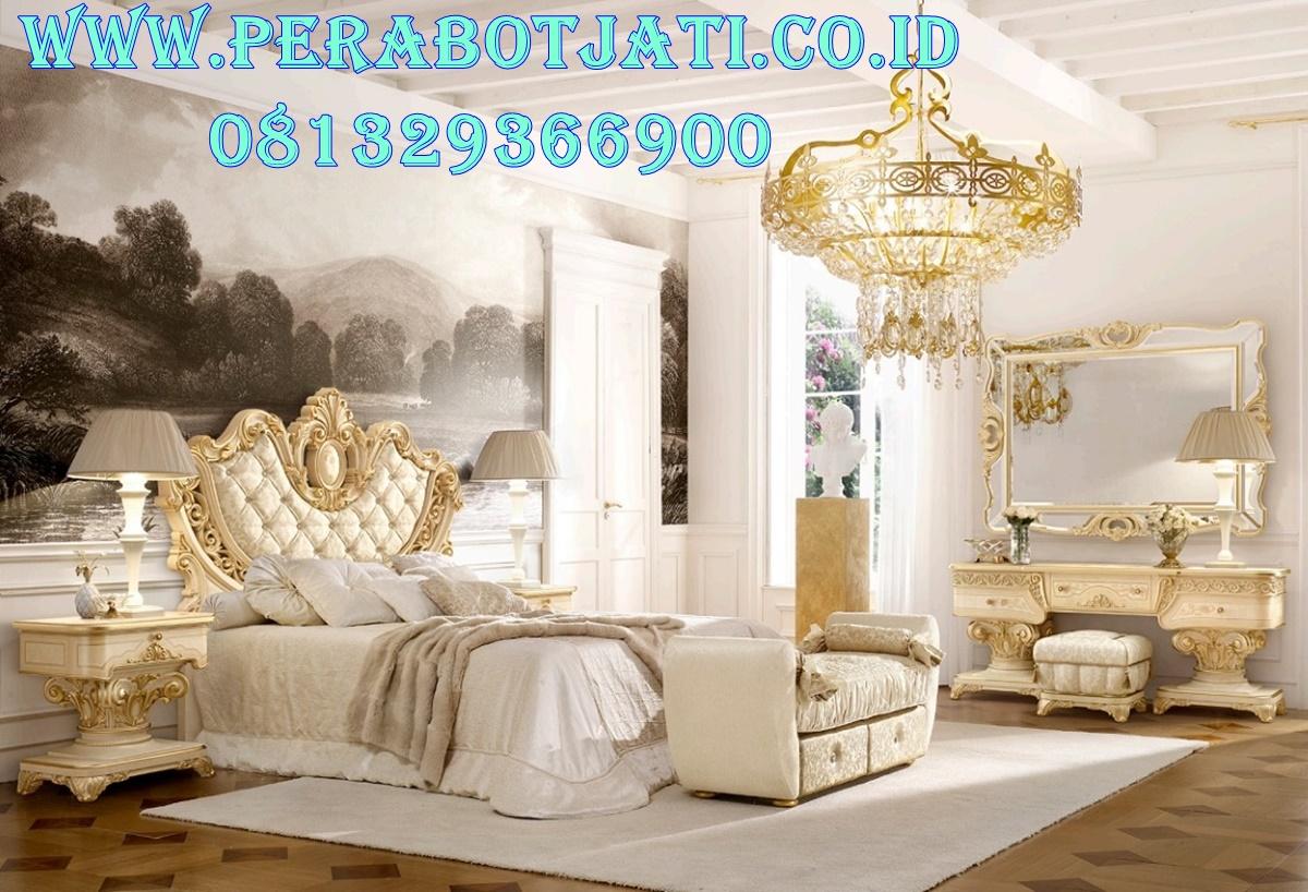 Set Tempat Tidur Mewah Imperiale Gold PJ - 0237