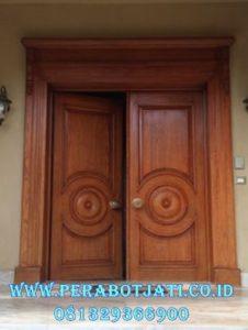 Kusen Pintu Kupu Kupu Mewah