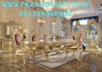 New Design Meja Makan Klasik Ukir Rosemerry