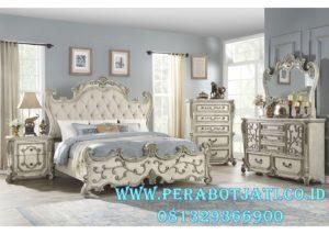 1 Set Kamar Tidur Klasik Ukiran Blueberry