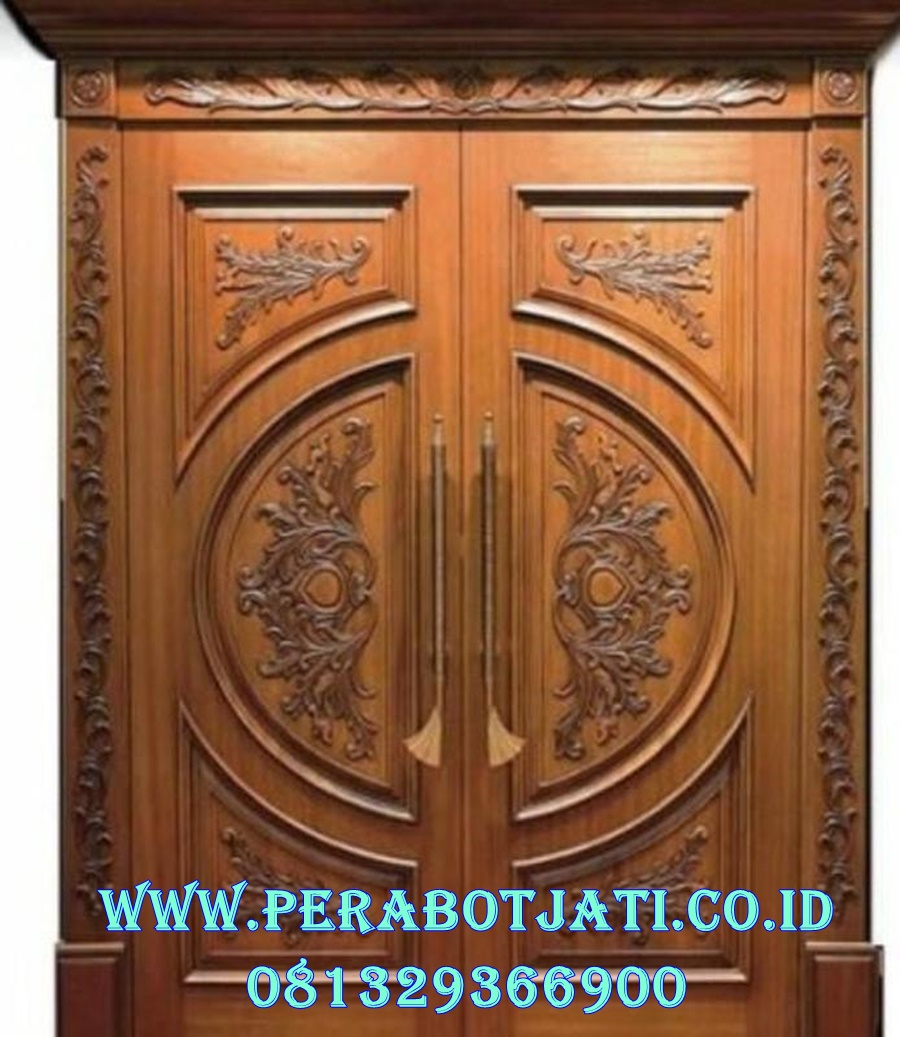 Model Pintu Depan Mewah Ukiran