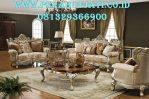 Set Kursi Klasik Sofa Tamu Ukir Luxury