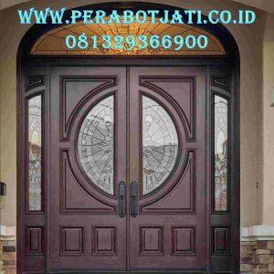 Kusen Daun Pintu Klasik Kolonial Rumah Terbaru