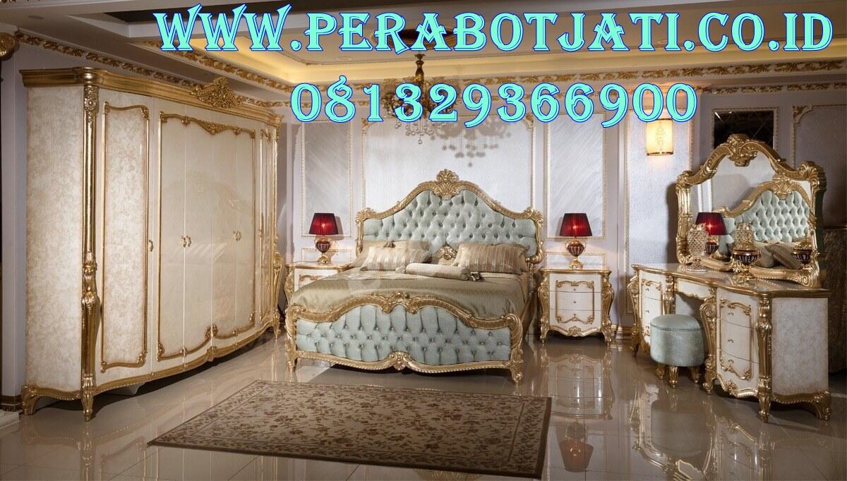 Best Furniture Klasik Kamar Tidur Utama Maldini