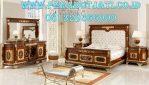 New Kamar Set Klasik Mewah Desain Tempat Tidur Turki