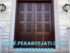 Kusen Pintu Ukir Klasik Motif Mewah Luxury