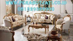 Desain Kursi Tamu Mewah Golden,Set Kursi Sofa Klasik Modern
