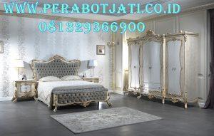 Jual Set Kamar Mewah Desain Interior Tempat Tidur Klasik Zici