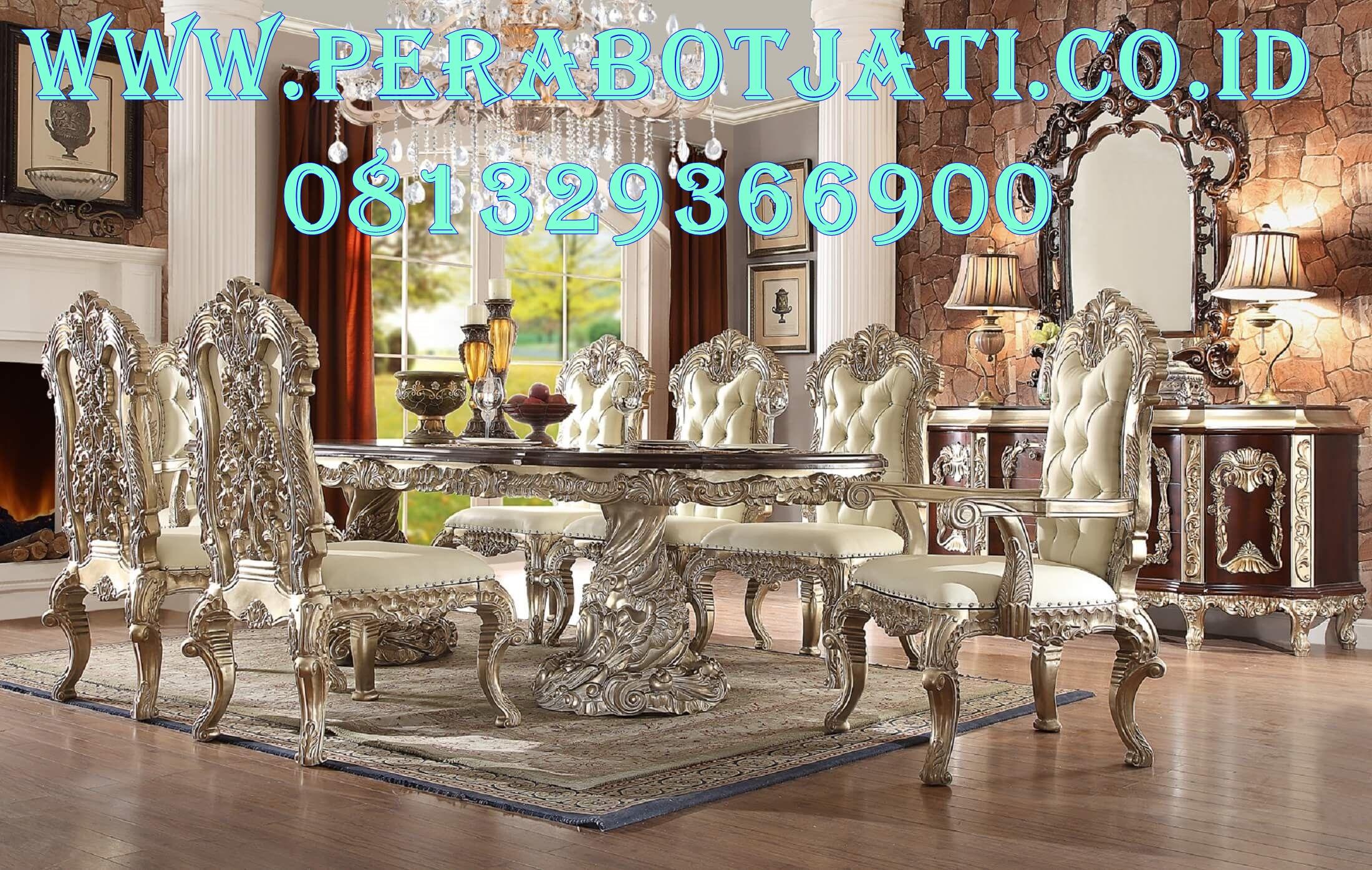 Best Kursi Makan Klasik Victoria Carving Royal