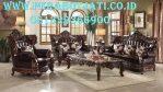 Jual 1 Set Kursi Sofa Tamu Ukir Klasik Desain Eropa Mewah Empire