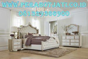 Antonella Set Tempat Tidur Ivory Mewah American