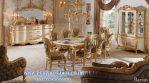 Meja Makan Royal Klasik 8 Kursi